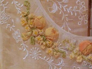 Detail: Edwardian Gown